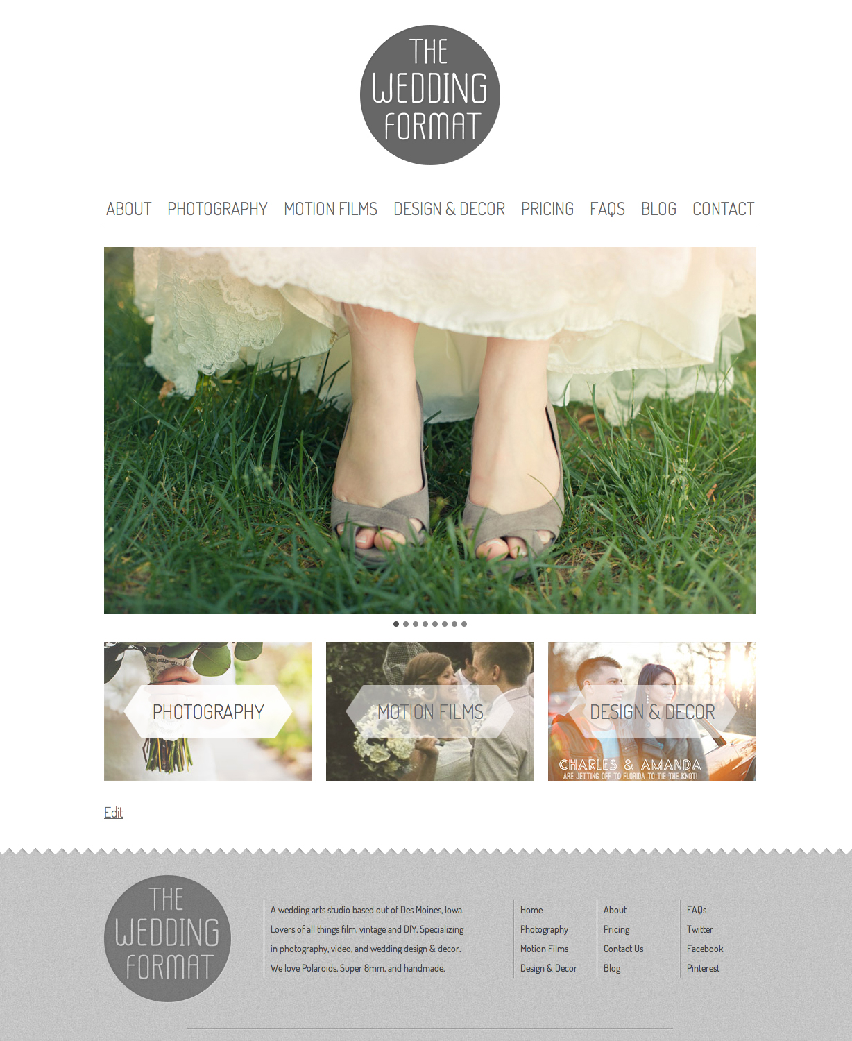 The Wedding Format image